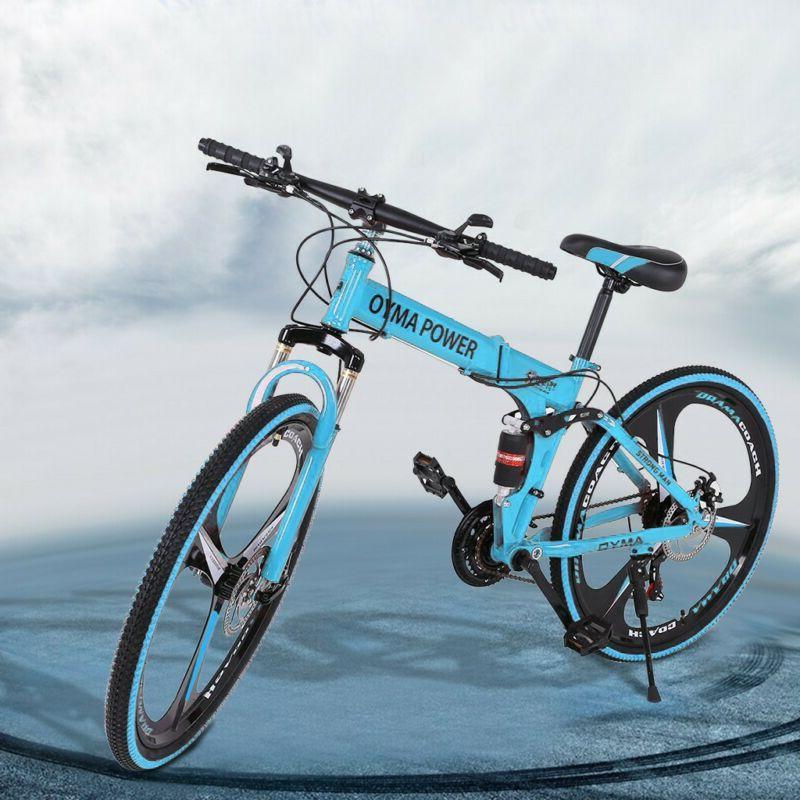 Mountain Spoke Wheel Full Folding Bike 21