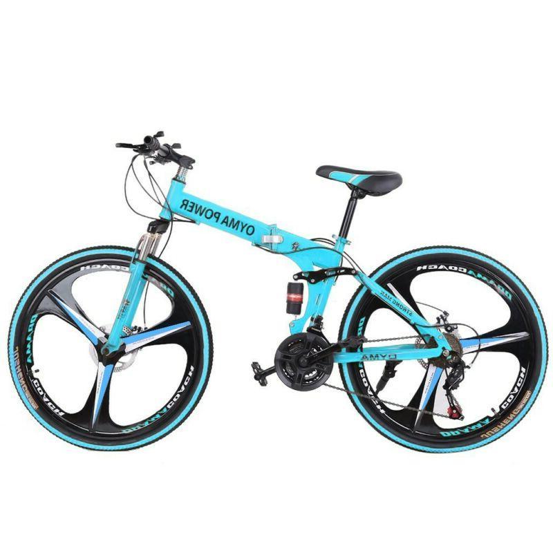 Mountain Spoke Folding 21 Bicycle