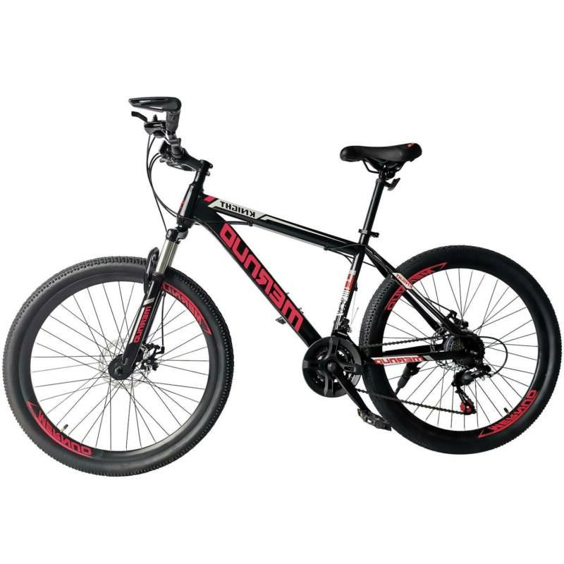 "26"" Mag Wheels Mountain Bike 21 Speed Bicycle Mens Bikes W/A"