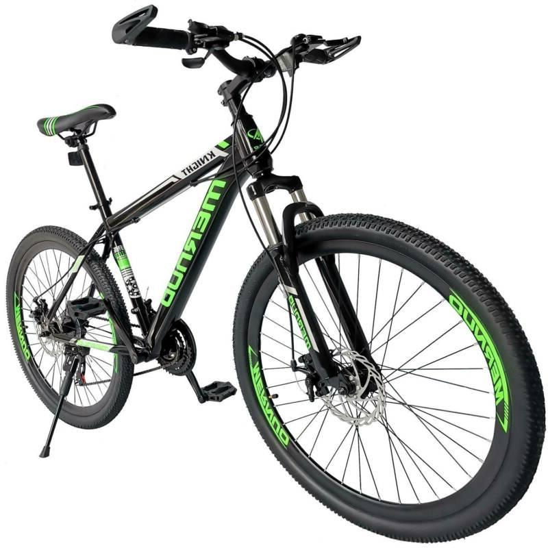 """Mountain Bike For Men's Bicycle 21 Speed 26"""" MAG Wheels Bicy"""