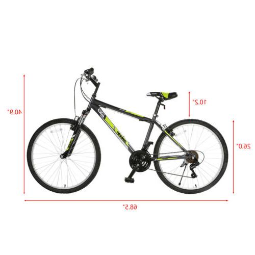 26'' Mountain Bike 18 Suspension Shimano