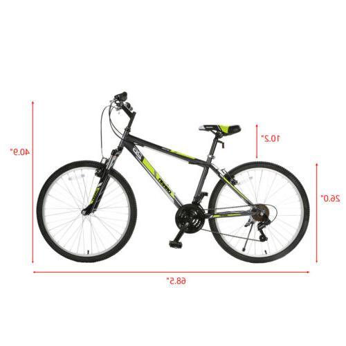 26'' Mountain Bike 18 Suspension Shimano