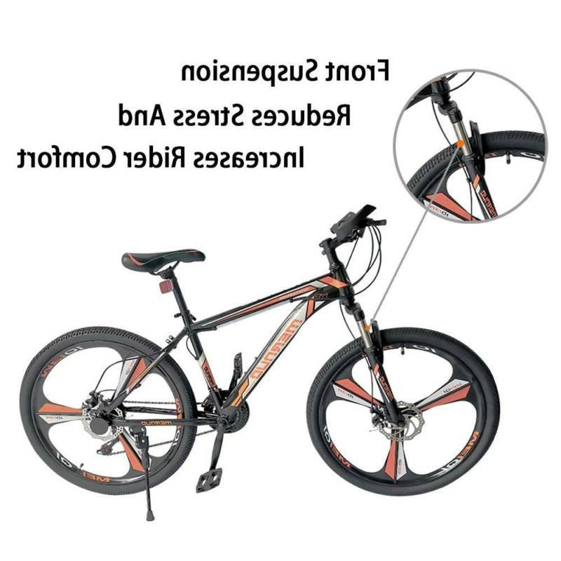 "26"" Wheels Mountain Bike 21 Speed Seat"