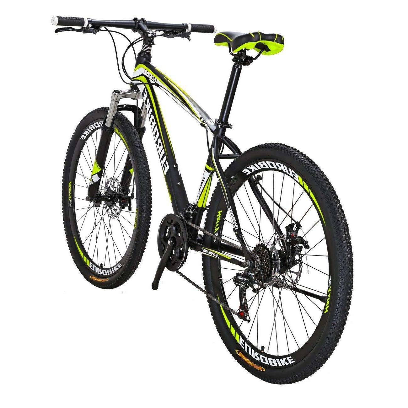 "Mountain Bike Front Shimano Speed Bikes 27.5"" bicycle"