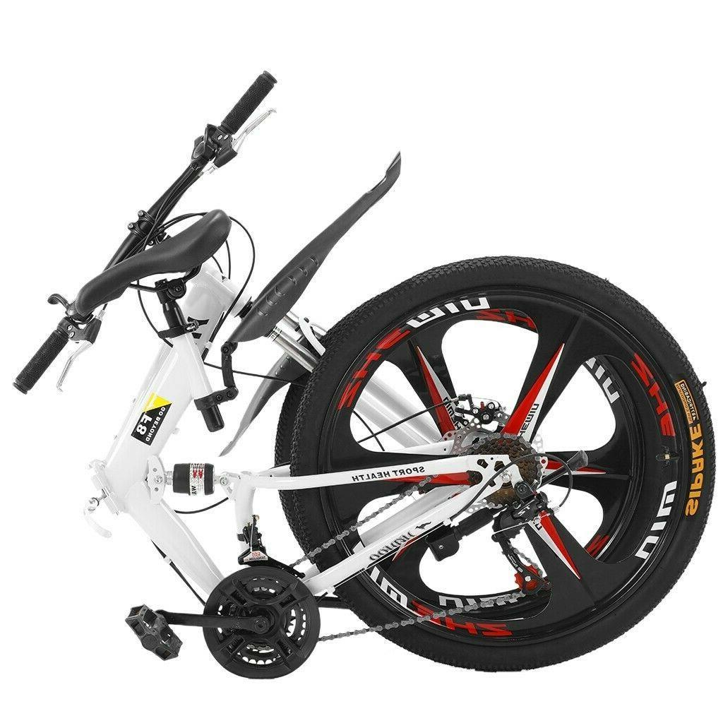 Mountain Full Suspension Shimano Mens Bikes MTB Bicycle