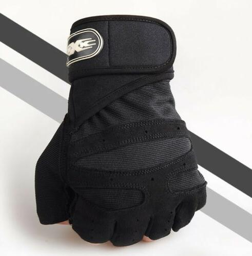 Half-Finger Climbing Gloves Cycling Hiking Outdoor Sports Gl