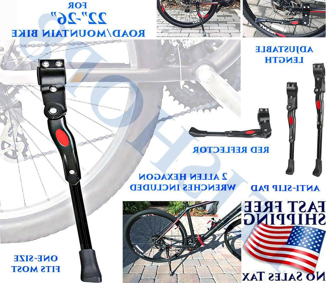 mountain bike kickstand bicycle adjustable aluminium bikes