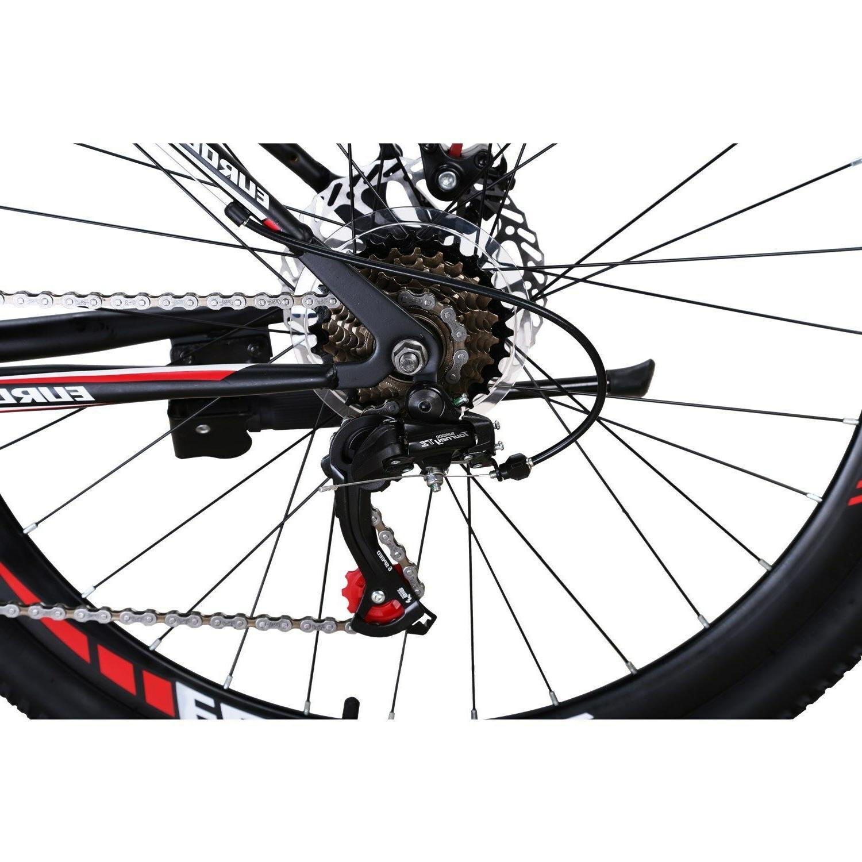 """Eurobike 27.5"""" Bike 21 Speed Disc Full Bicycle Bikes"""