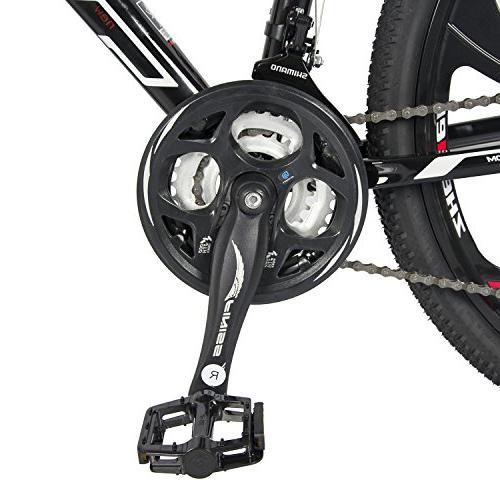 """Merax 26"""" Aluminum 21 Speed Alloy Wheel"""