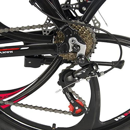 Merax Aluminum 21 Speed MG Alloy Wheel Mountain Bike