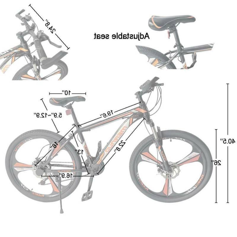 "26"" Bike Mens Bikes Adjustable Seat"
