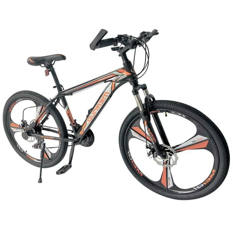 "26"" Front Suspension Mountain Bike 21-Speed City Bikes Bicyc"