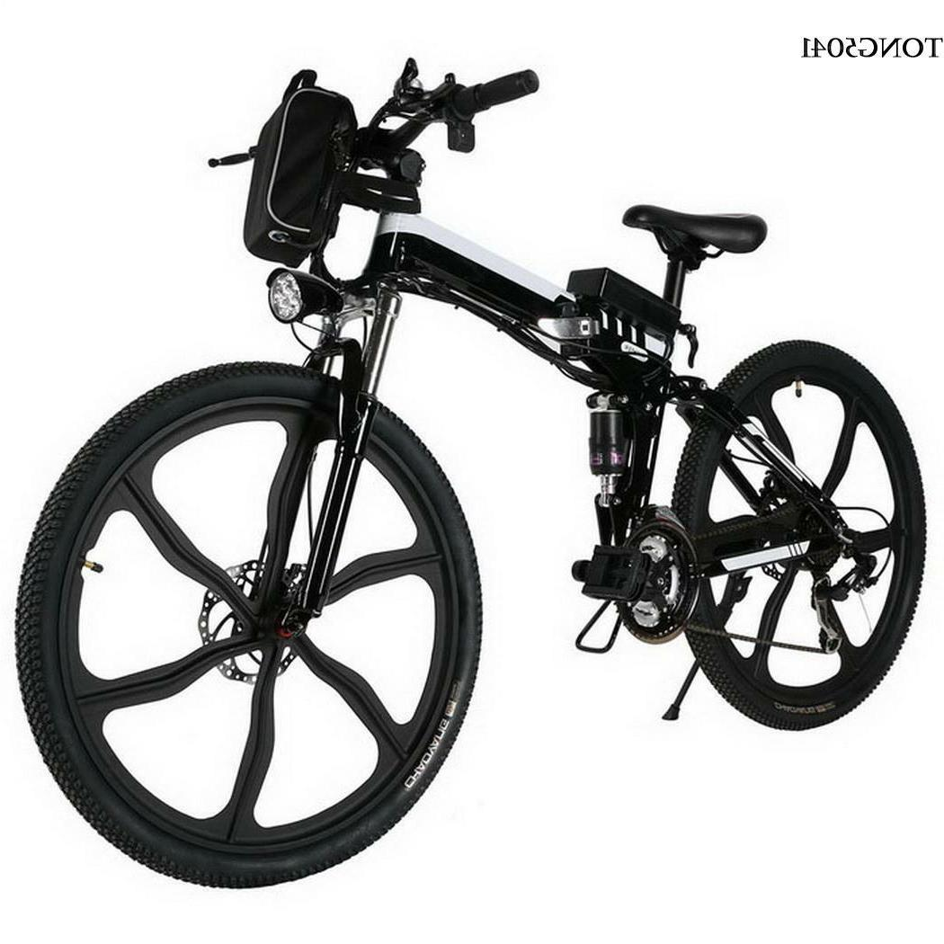 new 26inch electric mountain bike outdoor camping