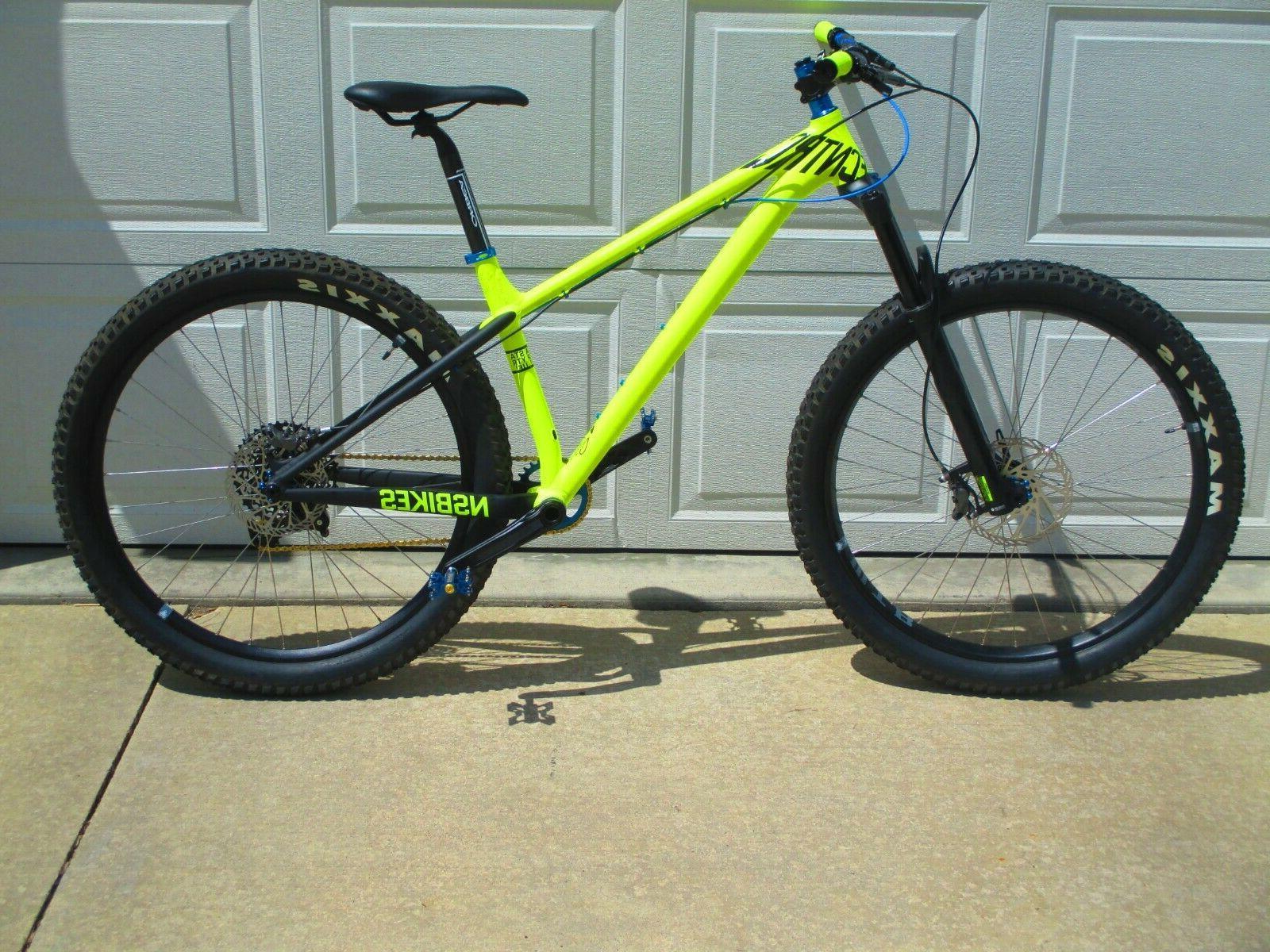 NEW NS Eccentric 27.5 Revelation 140mm Neon Bike