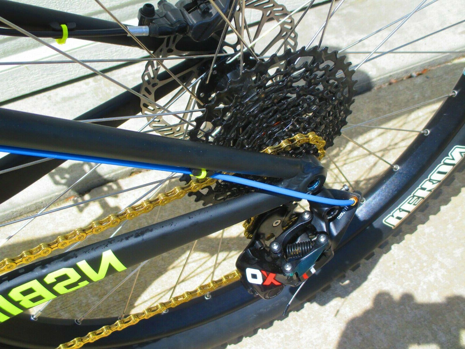 NEW Bikes 27.5 Plus SRAM X01 Revelation 140mm Neon Mountain Bike