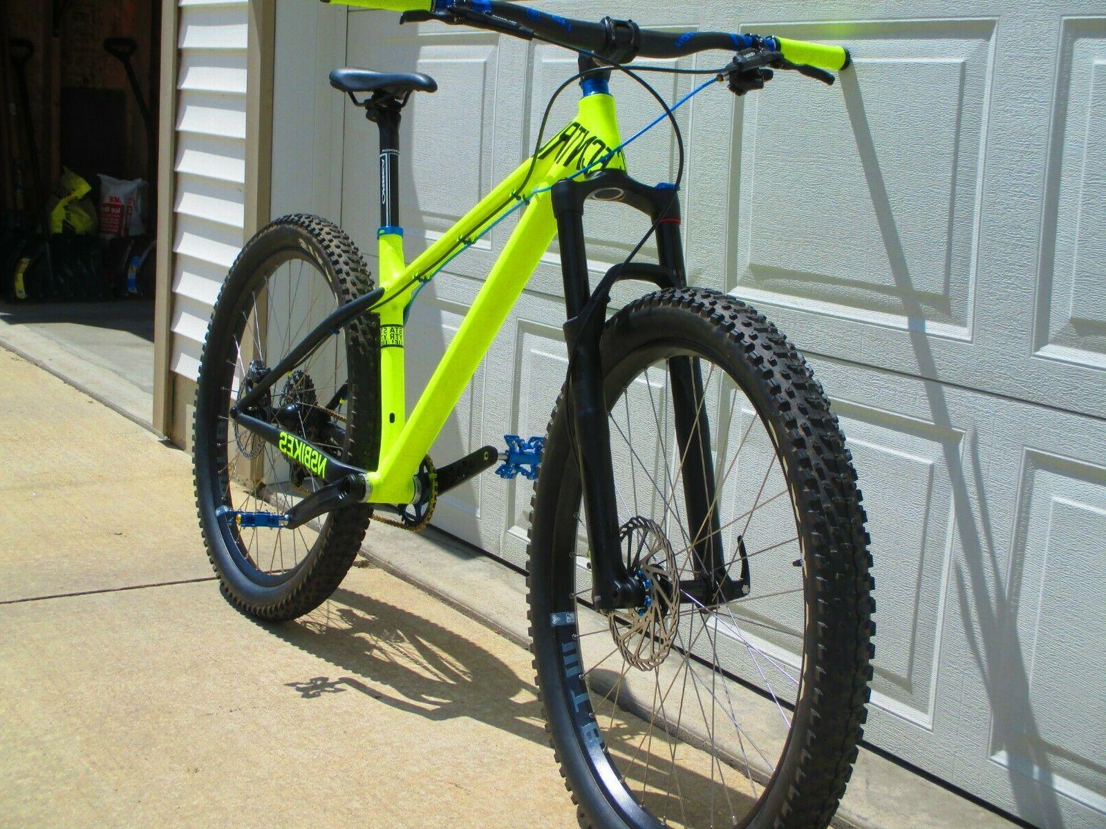 NEW 27.5 Plus X01 Revelation 140mm Neon Bike