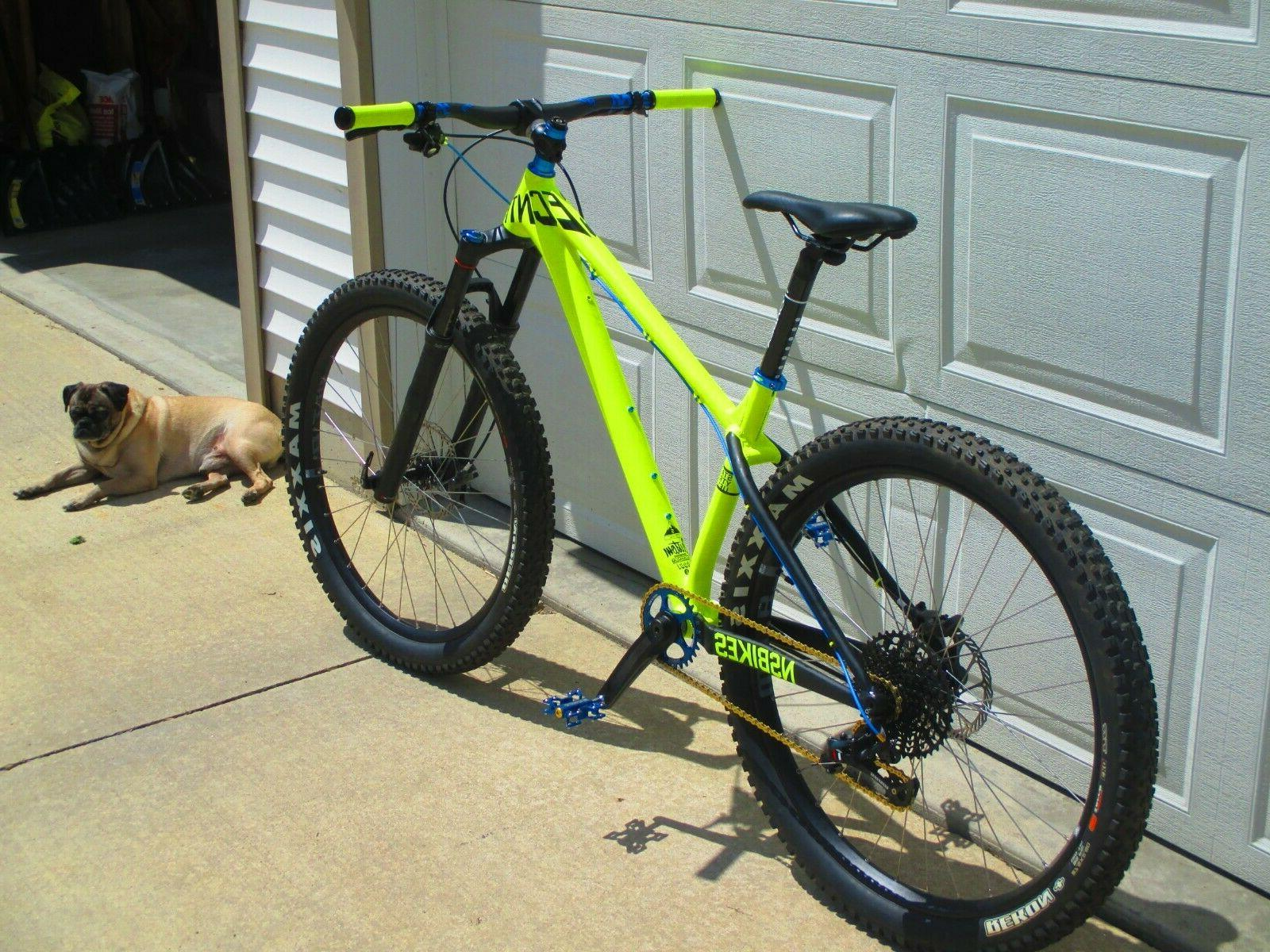NEW 27.5 Plus SRAM Revelation Neon Mountain