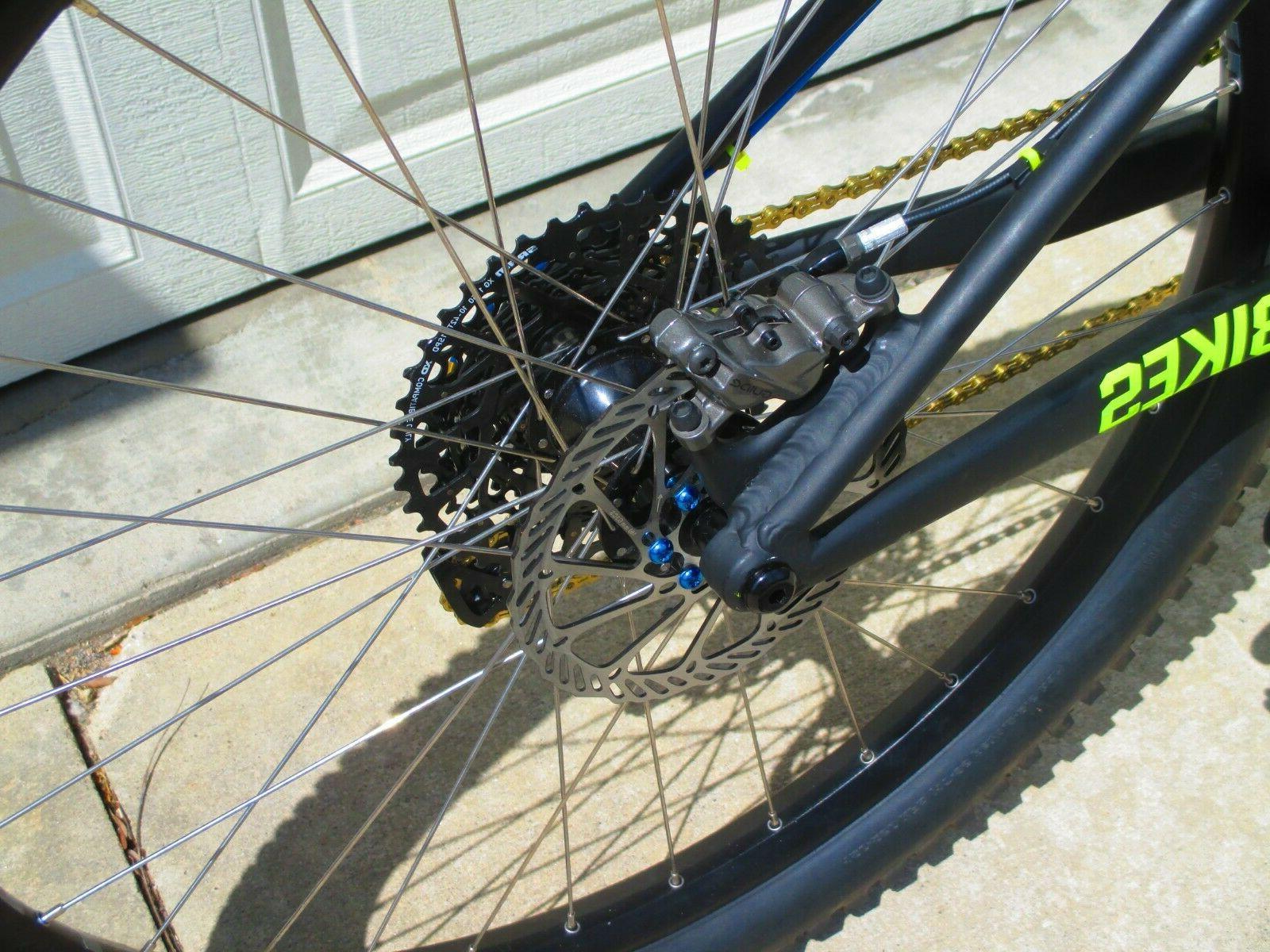NEW Bikes 27.5 SRAM Revelation 140mm Neon Bike