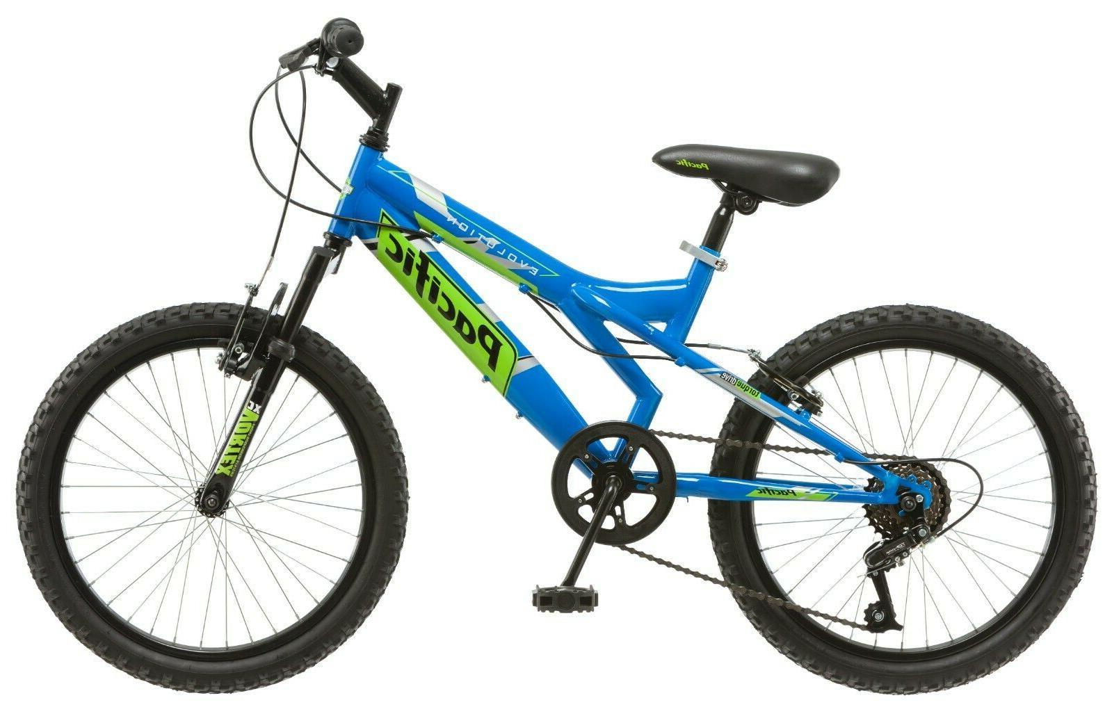 NEW Boys Steel Frame Bike-Blue