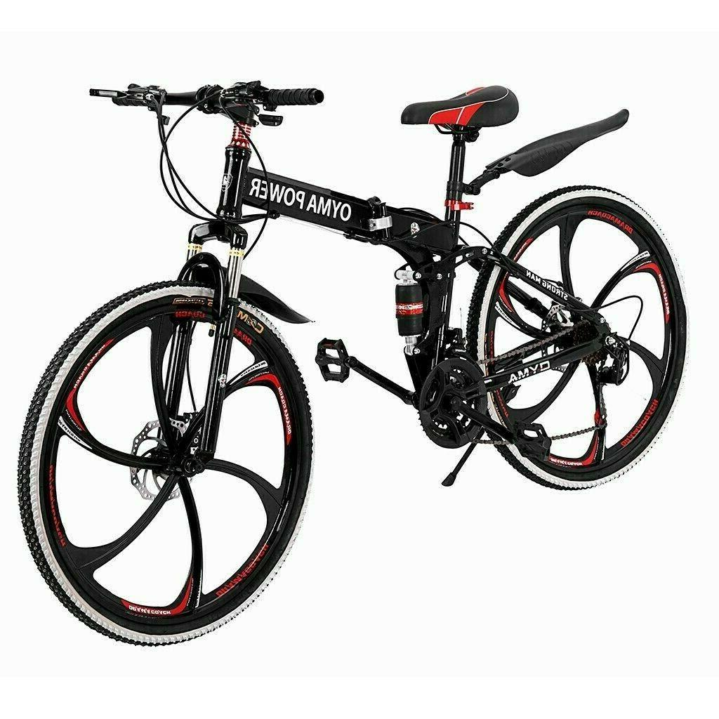 All-terrain Bike Folding Brake Bicycle