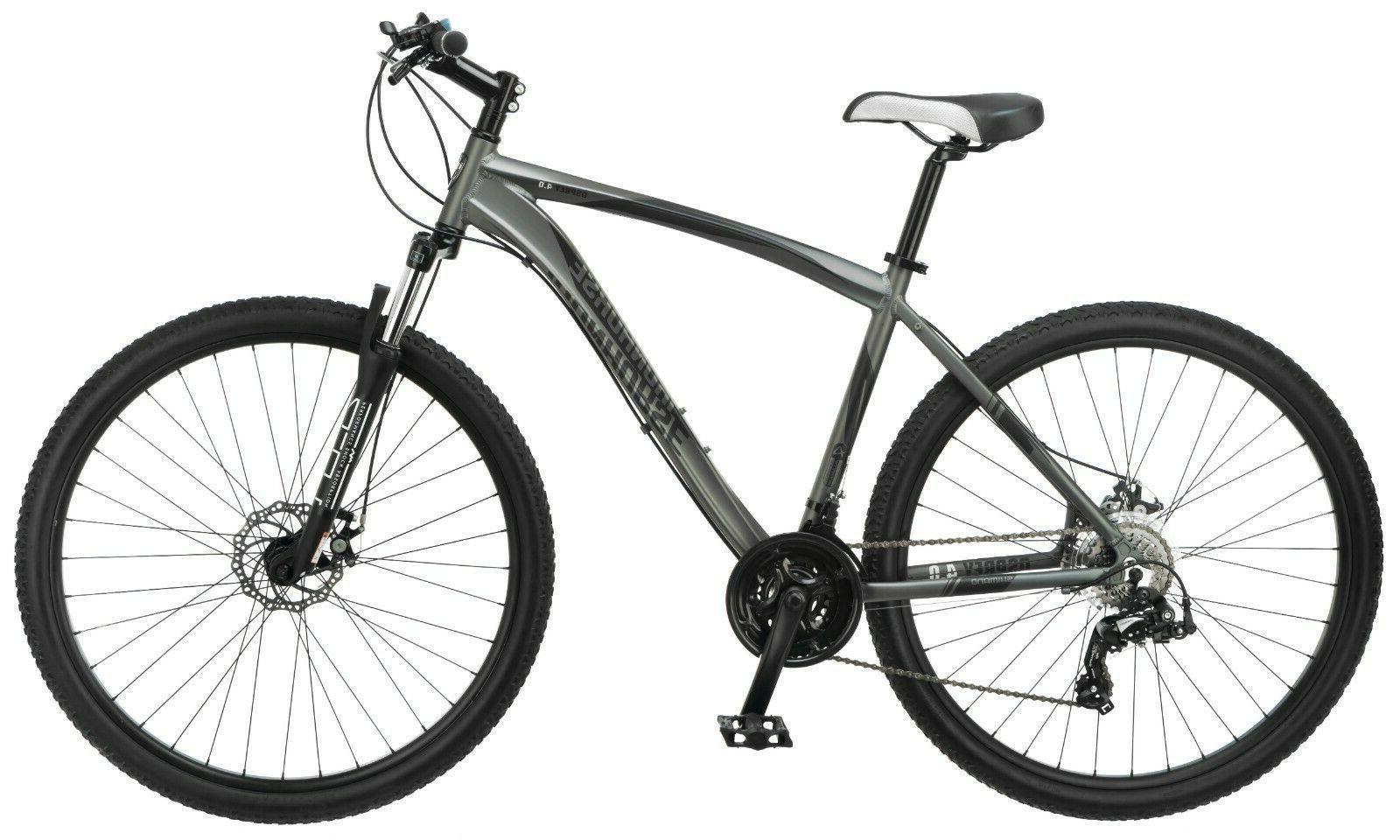 NEW 29-inch Full Suspension Mountain Bike-Gray