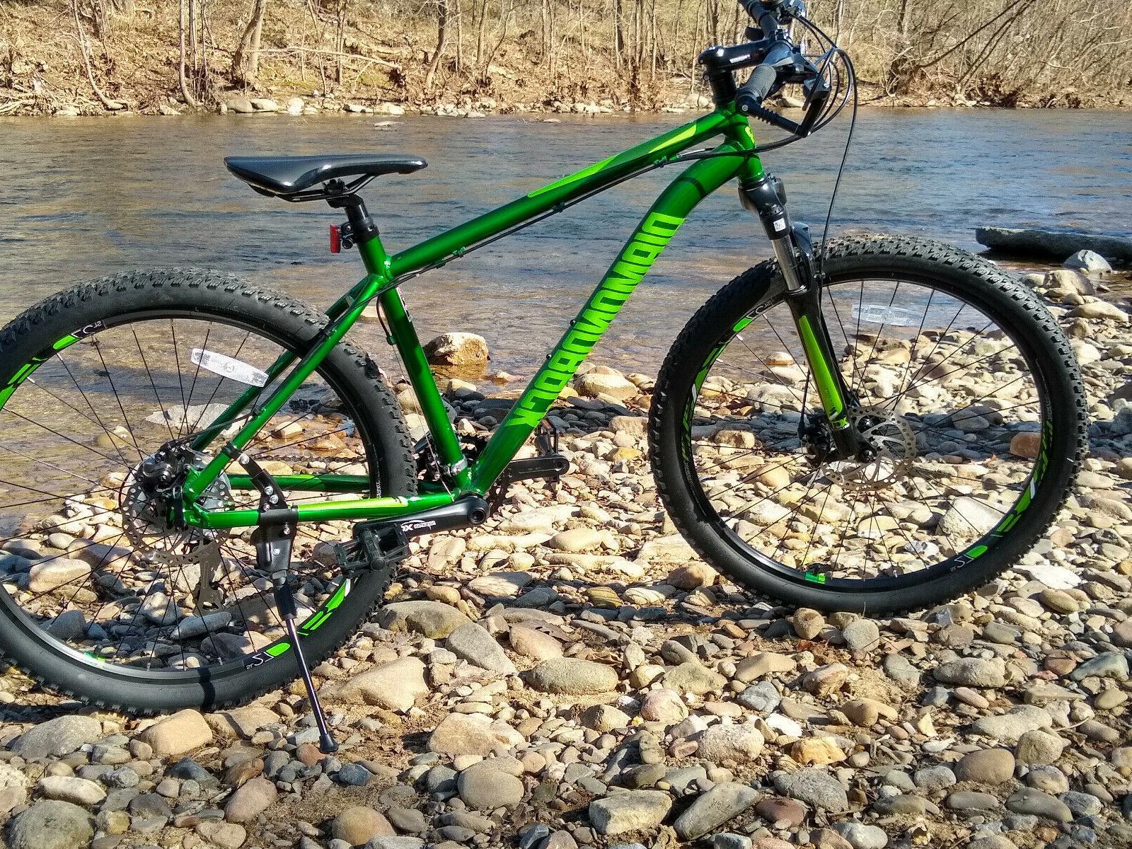 overdrive st mountain bike nib med