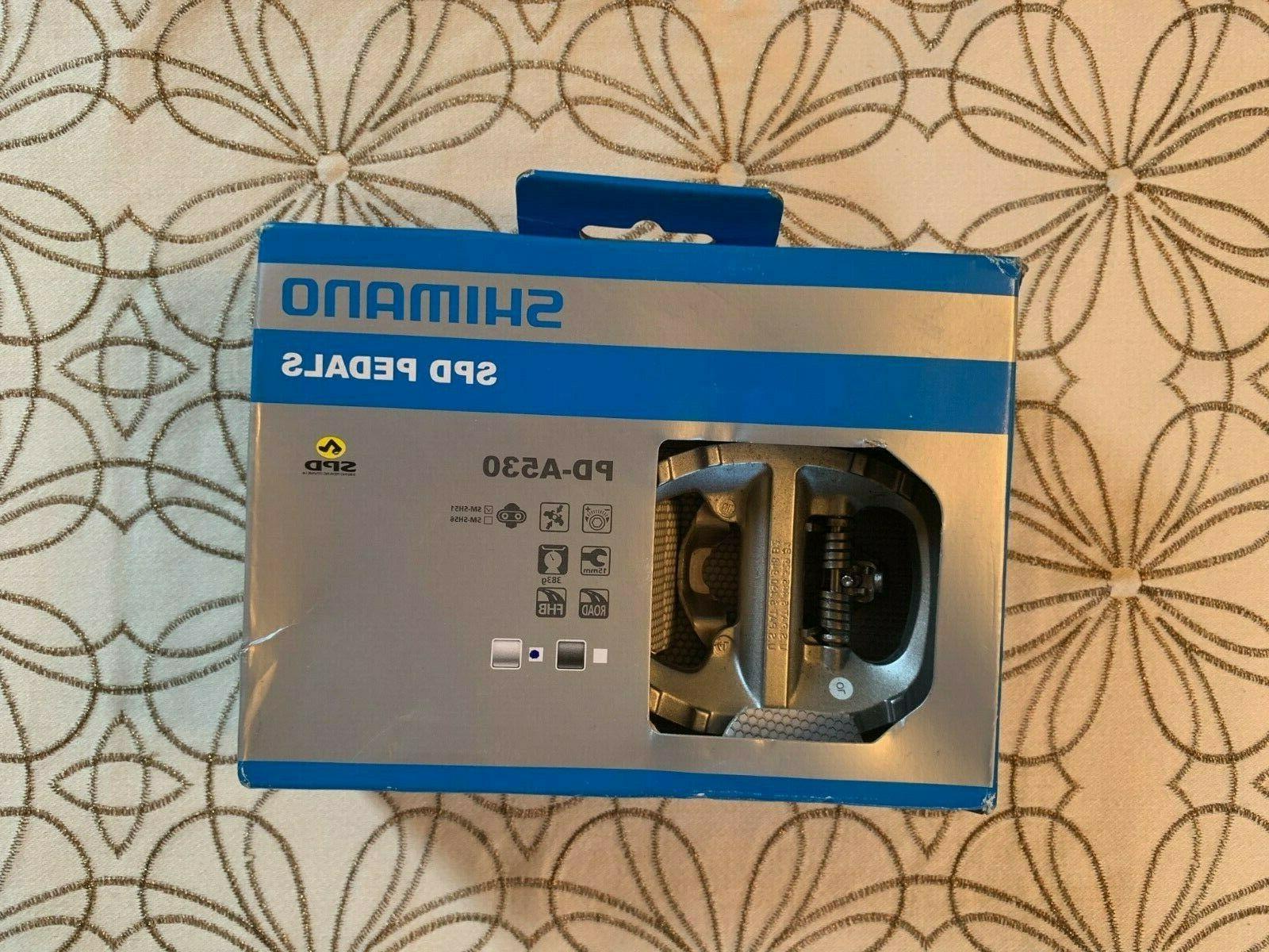 pd a530 silver spd pedals epda530 brand