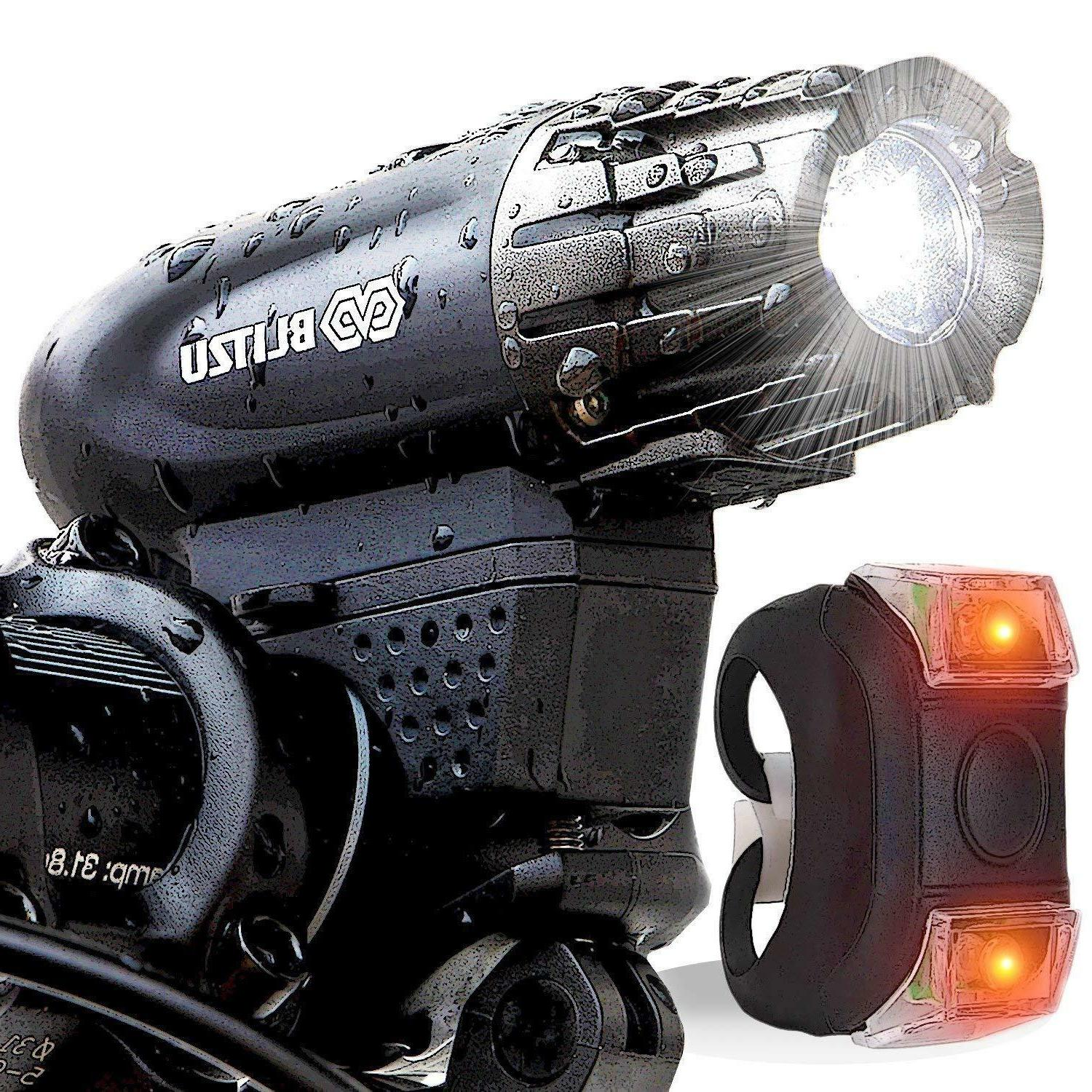 powerful bike light front rear