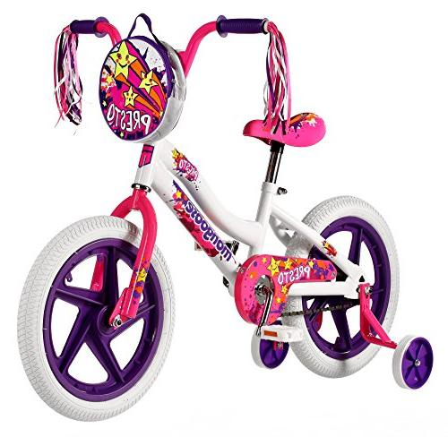 Mongoose Girls Presto Bicycle with
