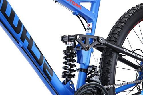 "Schwinn Protocol 2.7 Mountain Wheels, 17"" Frame Blue"