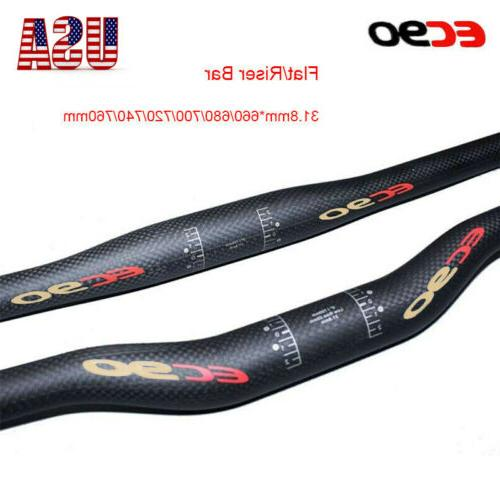 racing mtb bike handlebar riser flat bar