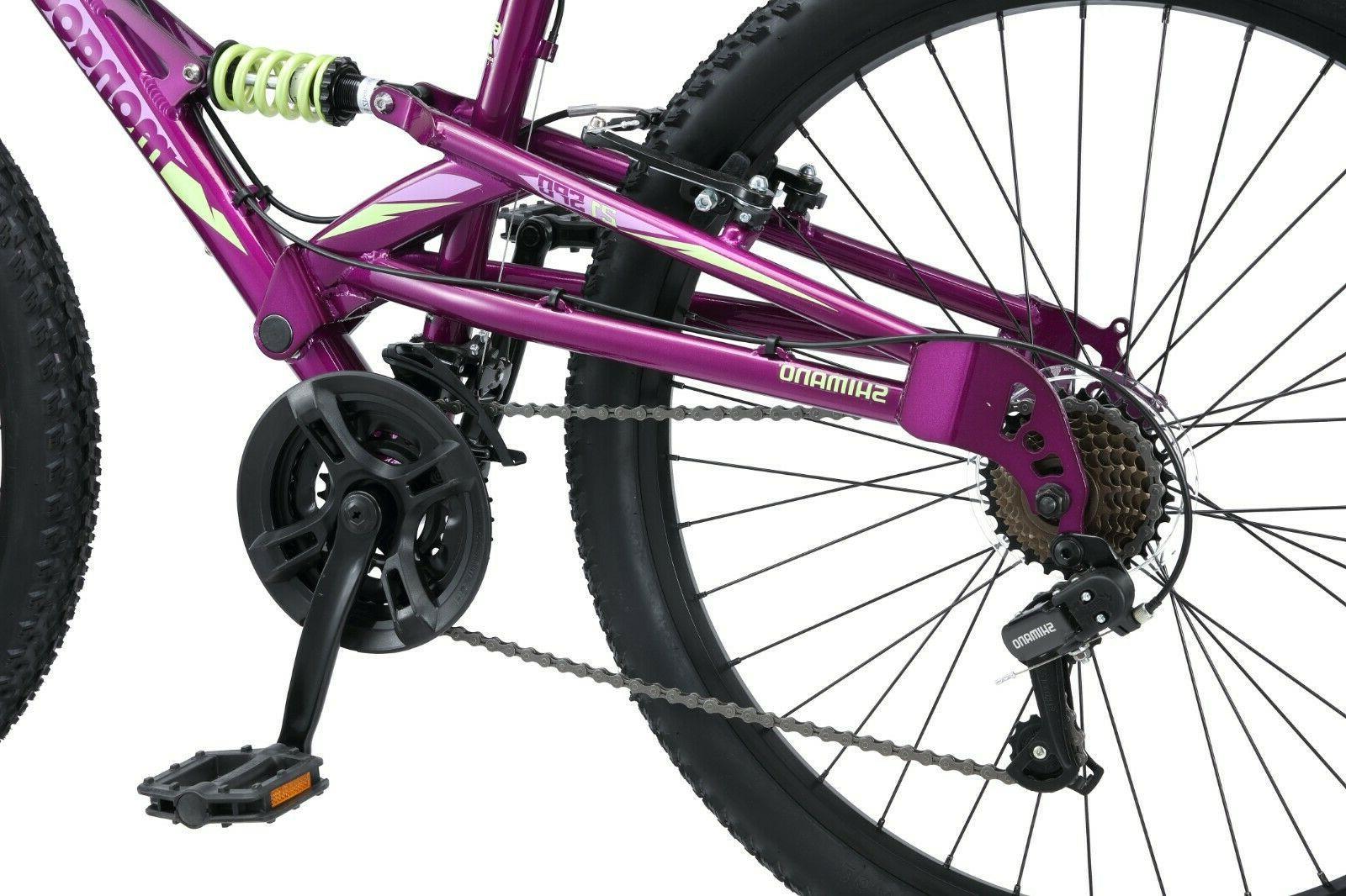 Mongoose Women's Mountain Bike-Purple