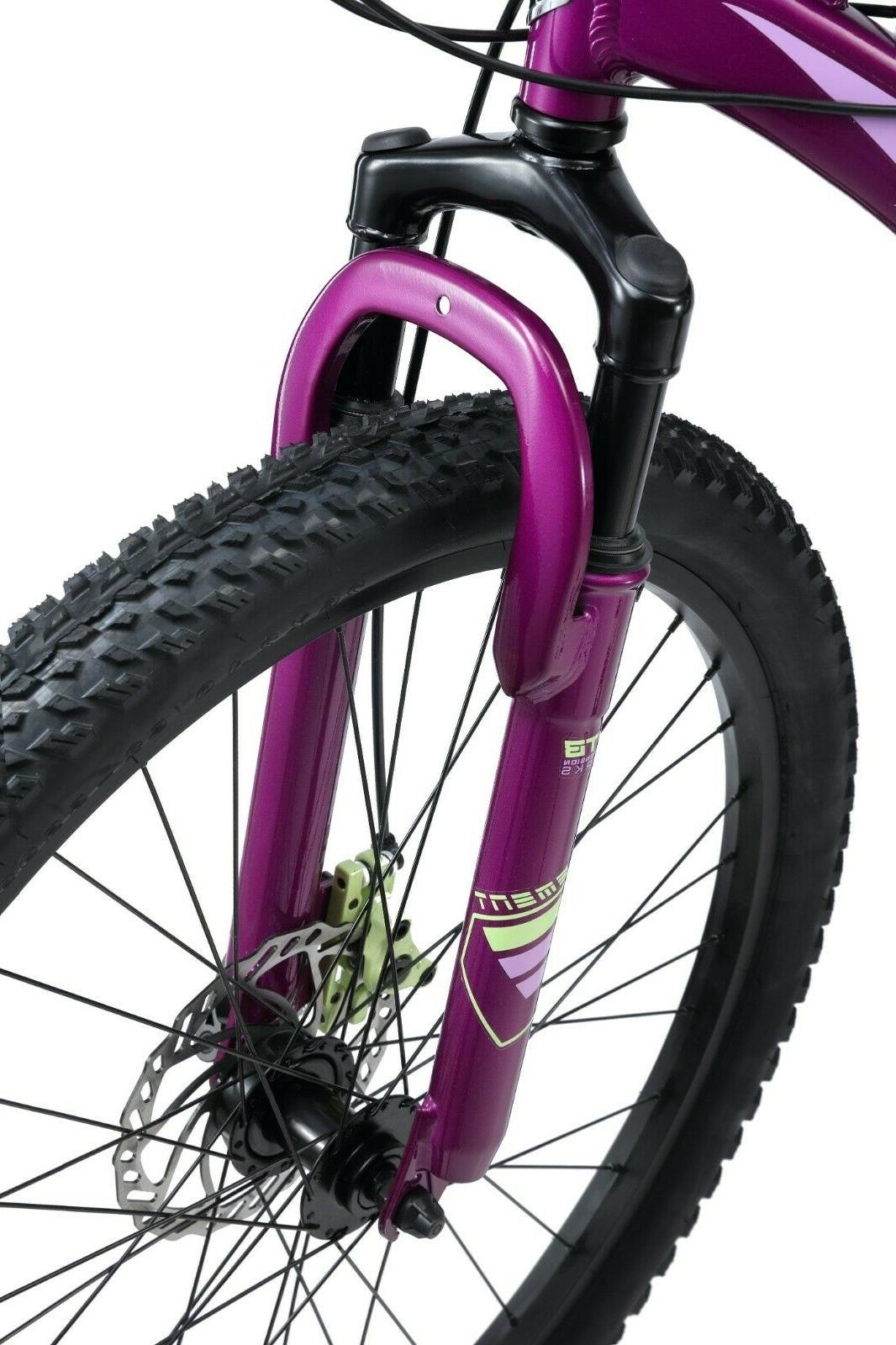 "Mongoose Saga 26"" Mountain Bike-Purple"