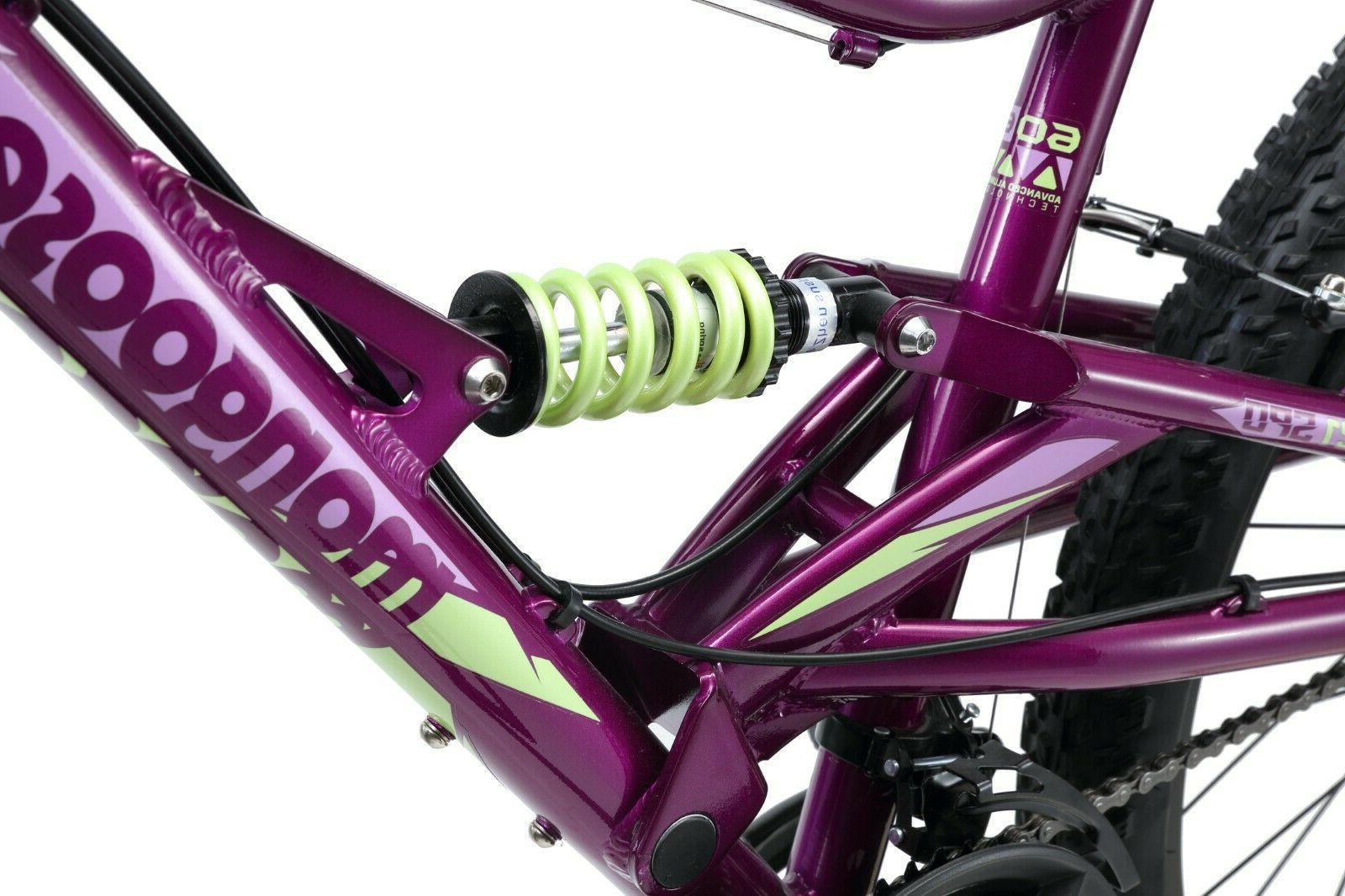 "Mongoose 26"" Mountain Bike-Purple"