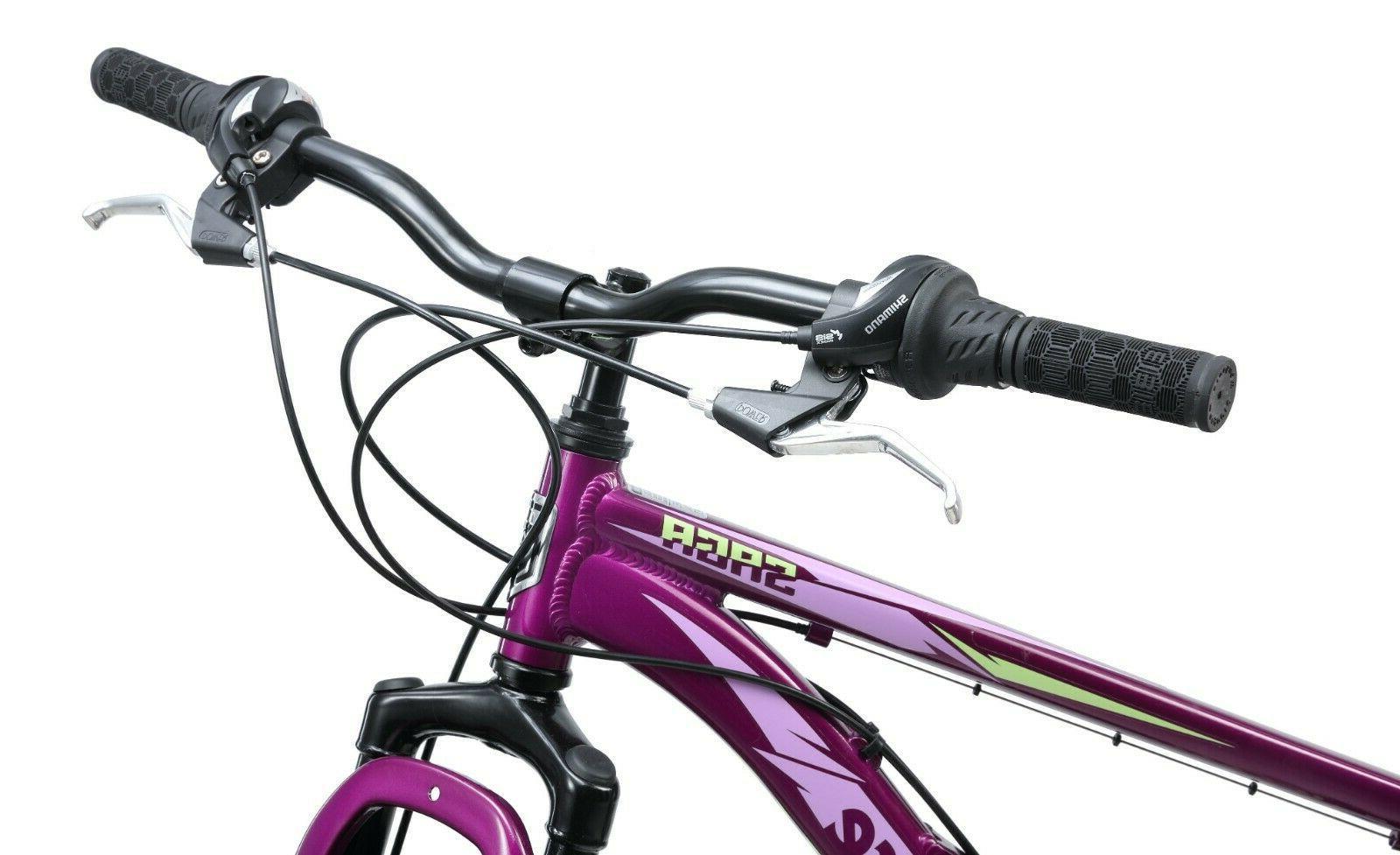 Mongoose Saga Mountain Bike-Purple