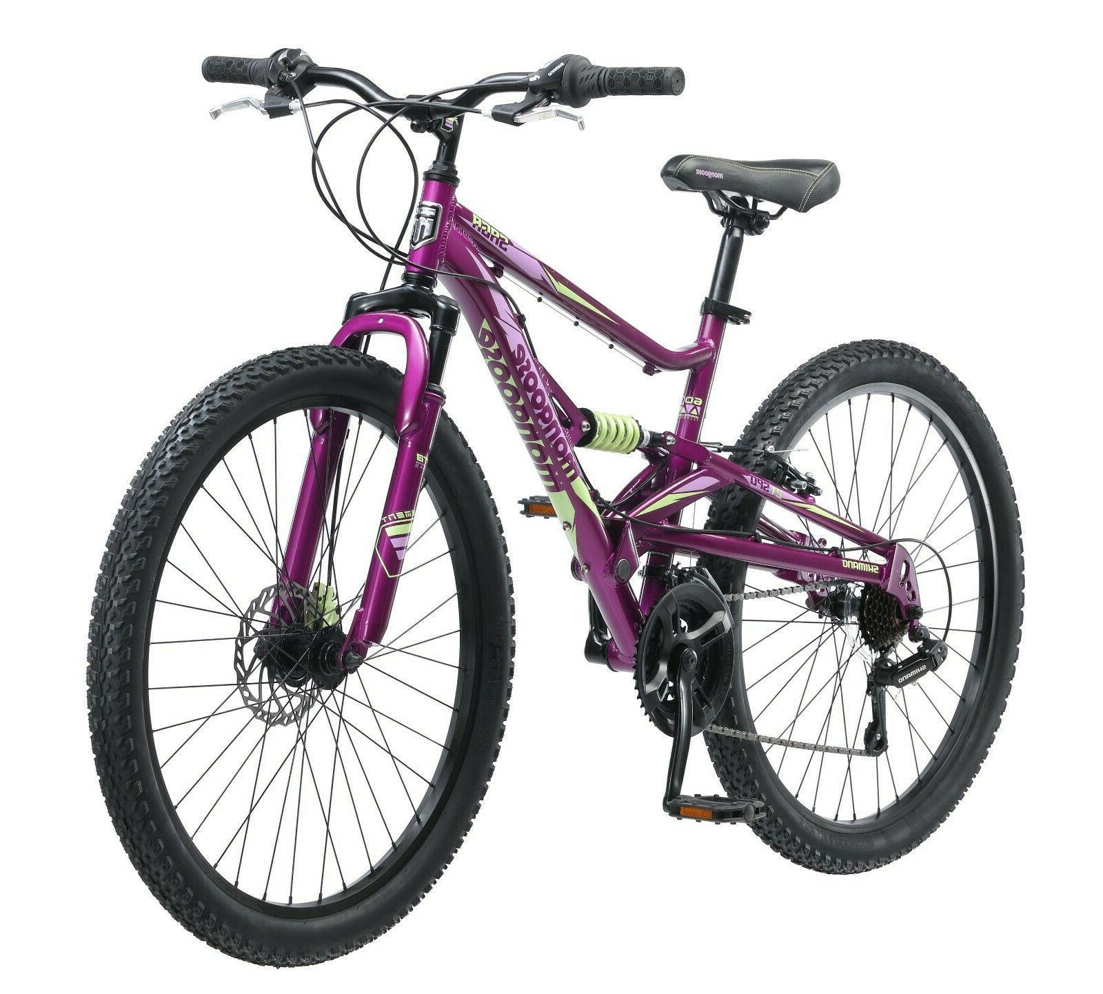 saga 26 women s mountain bike purple