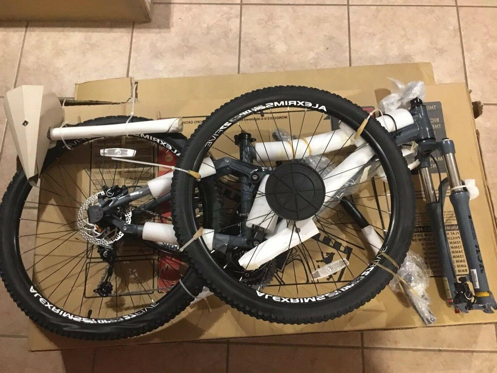 Mongoose Salvo Mountain Bike