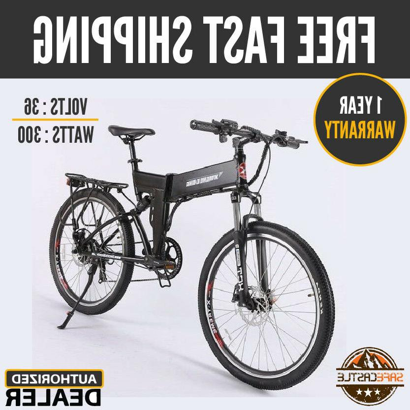 sierra trails electric mountain bicycle