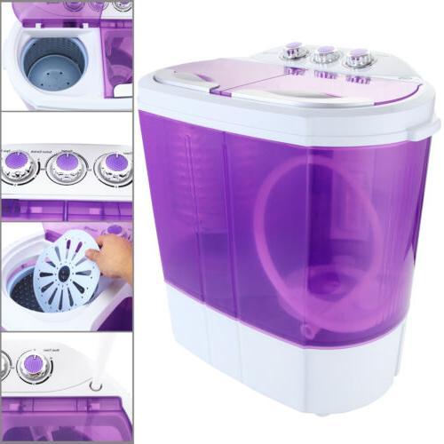 Mini Portable Washing 10lbs Compact Dryer RV Dorm