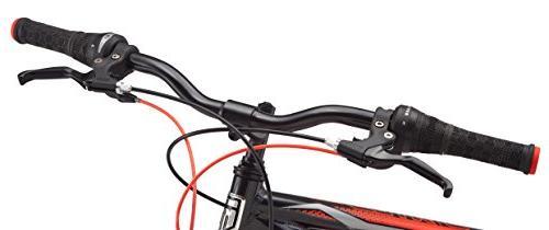 """Mongoose Status 2.2 Wheel bicycle, 18""""/medium frame black"""