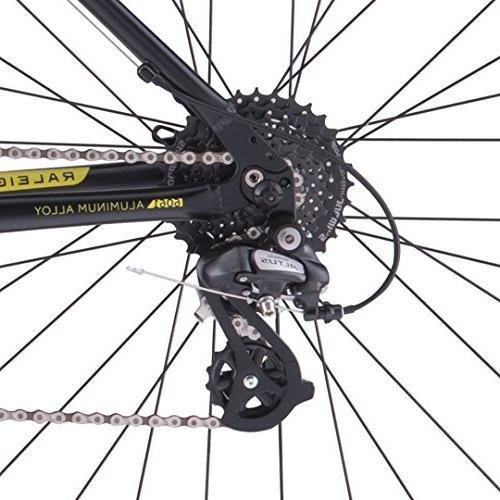 "Raleigh Bikes Talus 2 Recreational Bike 21"" Frame, Black,"
