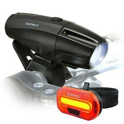 usb rechargeable safety bike headlight