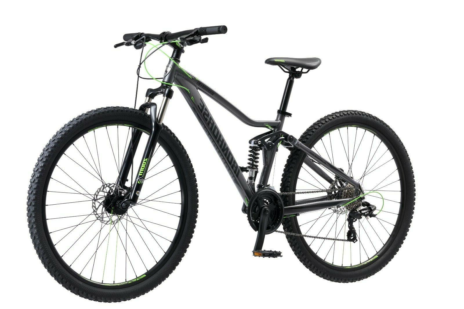 warrior 29 men s mountain bike black