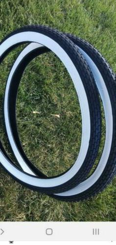Westwind STYLE tread white wall 20 x 1 3/4 tire Bike for Sch