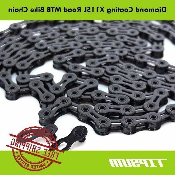 TIPSUM X11SL Diamond Coating DLC Shimano SRAM CAMPAGNOLO KMC Road MTB Bike Chain