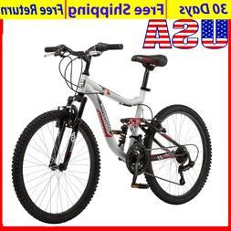 Mongoose Ledge 2.1 Mountain Bike 24-inch wheels 21 speeds bo