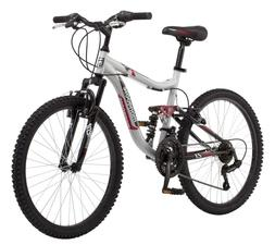 Mongoose Ledge 2.1 Mountain Bike, 24-inch wheels, 21 speeds,