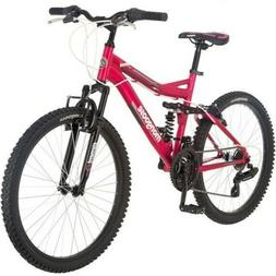 "24"" Ledge 2.1 Girls' Mountain Bike, Pink-Mongoose-R2461WMADB"