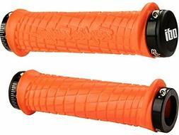 Odi Lock-On TLD Mountain Bike Grips Bonus Pack, Orange/Black
