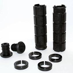 Oury Grip Lock-On Grip Black, One Size